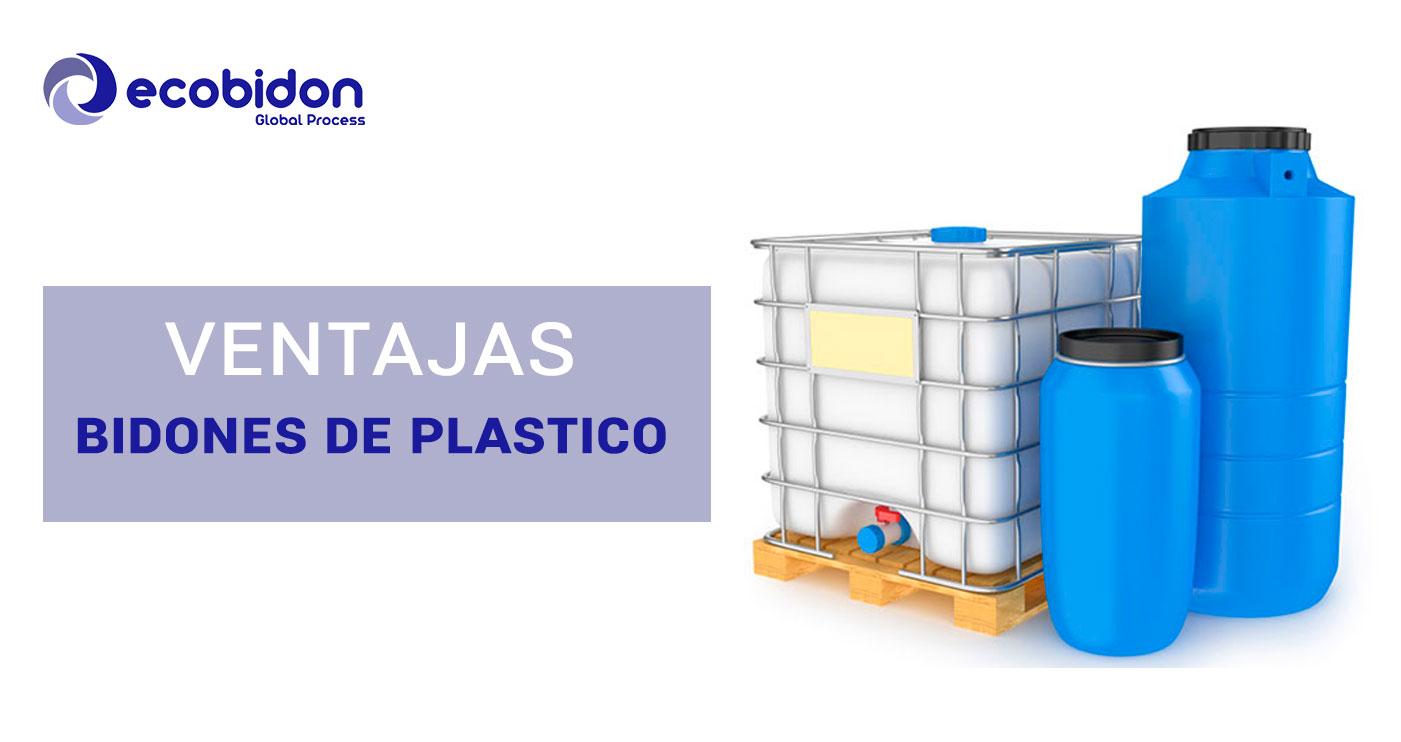 GRG y bidones de plástico